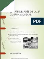 El arte leugo de la 2° guerra mundial(Resumen)