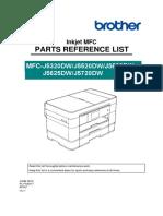 Service manual  MFC-J5320DW J5520DW J5620DW J5625DW J5720DW