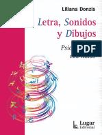 14. Letra, Sonidos y Dibujos-Liliana Donzis