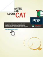 All about CAT - PG Forum