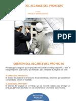 GESTION DE ALCANCE - PMBOK