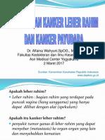 Ppt Kanker Serviks - Edited