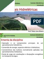 Introdução a centrais hidrelétricas