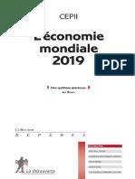 L'ECONOMIE MONDIALE, 2019, CEPII.pdf