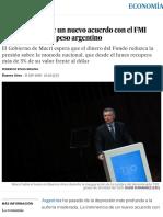 La Inminencia de Un Nuevo Acuerdo Con El FMI Frena La Caída Del Peso Argentino _ Economía