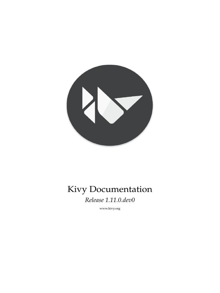 Kivy Documentation | Ubuntu (Operating System) | Command Line Interface
