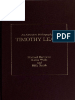 An Annotated Bibliography of Timothy Leary.pdf