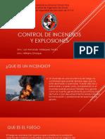 Control de Incendios y Explosiones