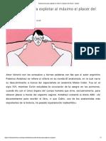 Ilustraciones Del Placer Clítoridio