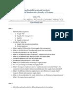 Question Bank - DBD205