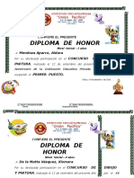 Diplomas Dibujo y Pintura Inicial 2018