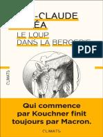 Le Loup dans la bergerie - Droi - Jean-Claude Michea.pdf