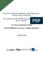 Ix Encuentro de Filosofia e Historia De