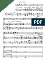Harmo +Theme et accords - Score