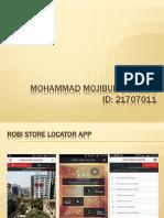 Robi Store Locator App