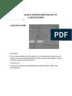 Materiales e Instrumentos de Un Laboratorio
