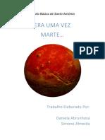 Planeta Marte Trabalho