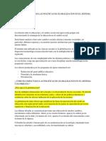 Como Ha Impactado Las Politicas de Globalizacion en El Sistema Colombiano
