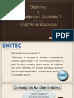 Didáctica y Competencias Docentes