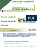 EJERCICIO 11 (HIDRÁULICA)