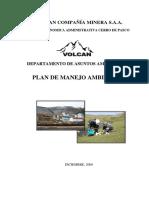 1 Plan de Manejo Ambiental