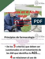32. Farmacos en El Adulto Mayor
