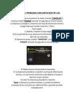 Soluciones Cartuchos Hp 122