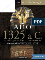 Ano 1325 a C - Ana Maria Vazquez Hoys