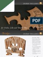 Teller Datasheet Stringinstrument Bridges