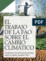 El trabajo de la FAO sobre cambio climatico.pdf