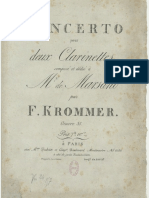 Krommer Conc 2 Clar Pts Ed