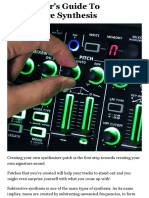 A Beginner's Guide To Subtractive Synthesis - PowerOn | Roland UK