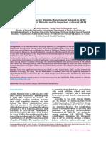 Effectiveness of Allergic Rhinitis Management Rela