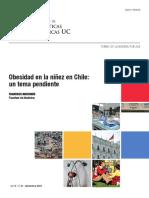 Obesidad en La Ninez en Chile