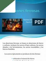 Aleaciones ferrosas