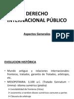 Evolución HIstórica DIP