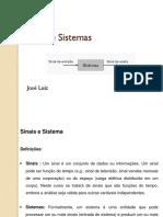 Sinais e Sistemas 1