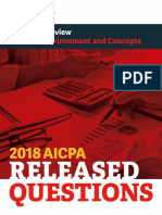 2018 AICPA Released Questions for the Business section (BEC) in PDF