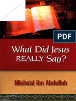 What Did Jesus Really Say