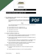 ATIVIDADE I - AULA 1 e 2.doc