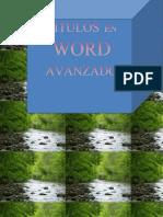 Titulos en Word Avanzado Ampc
