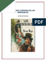 Analisis Literario de Los Miserables