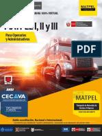 Brochure Matpel Nivel i II y III
