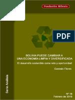Análisis No. 18.  Bolivia puede cambiar a una economía limpia y diversificada.pdf