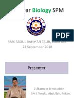 Seminar Bio P2 SMART 2018