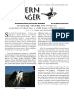 September-October 2007 Western Tanager Newsletter - Los Angeles Audubon