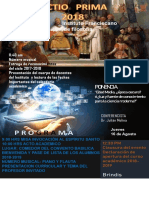 Lectio Prima 2018