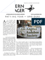 May-June 2008 Western Tanager Newsletter - Los Angeles Audubon