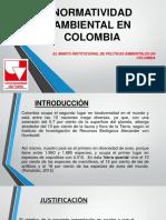 NORMATIVIDAD AMBIENTAL COLOMBIANA PRESENTACIÓN.pdf