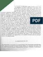 Disolución Del Ego. Alain Touraine